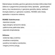 Birių medžiagų svėrimo įranga, Rembe