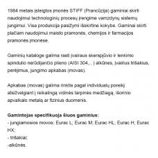 Vamzdžių montavimo fasoninės dalys. STIFF