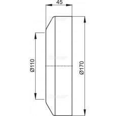 WC alkūnės žiedas A98