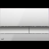 M1722 Nuleidimo mygtukas chromas, matinis